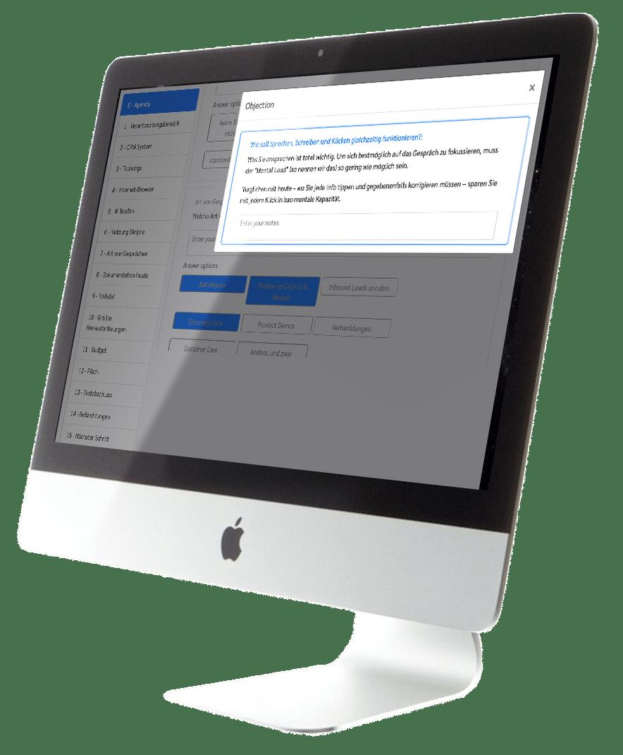 Bildschirm Demo bao solutions