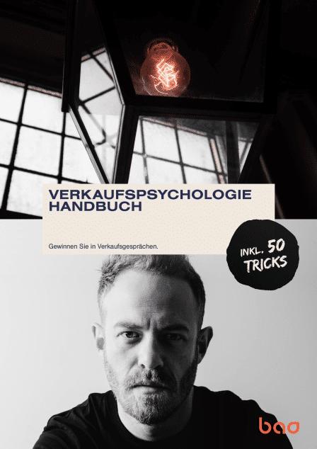 Cover - Verkaufspsychologie Handbuch